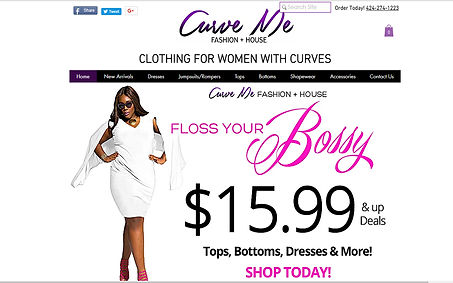 Curve Me Fashion House created by iZiggy Promotions