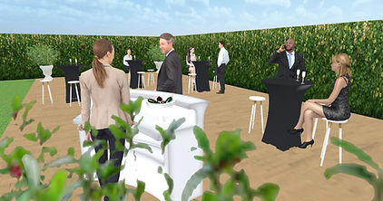 AMBIANTIELLE location mobilier événementiel mariage, anniversaire, baptême, baby-shower, retraite, soirée, séminaire