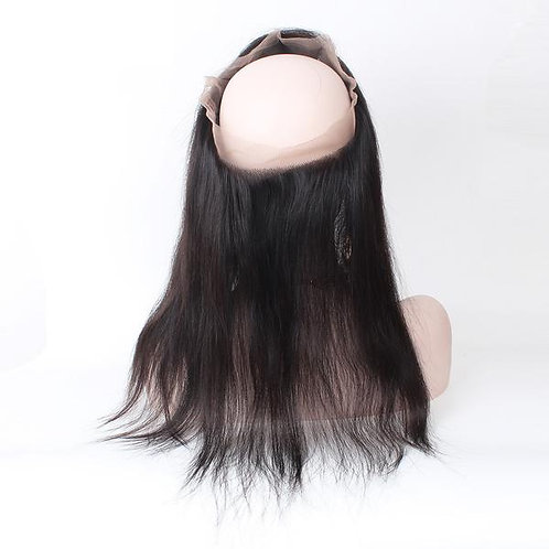 360 Silky Straight Virgin Hair Frontal