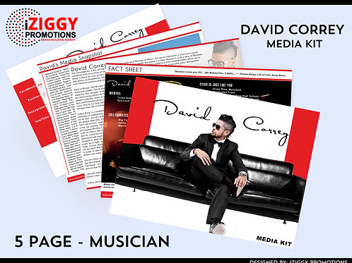 Media Kits by iZiggy Promotions