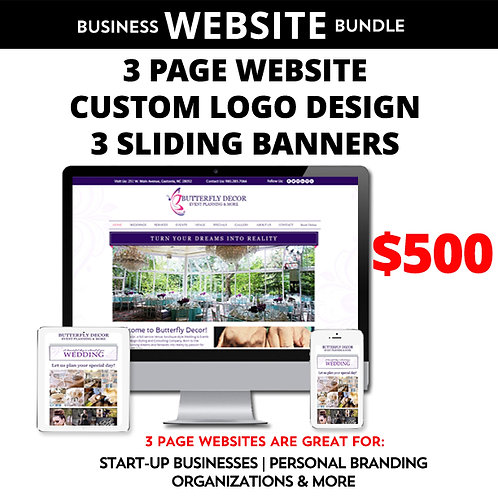 Business Website Bundle 1 by iZiggy Promotions