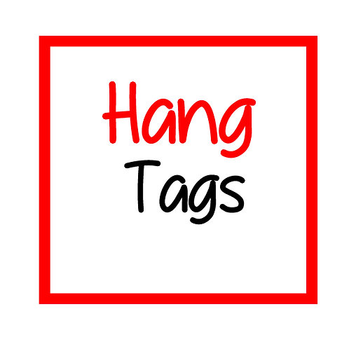 Reprint Hangtags/Hairtags