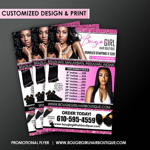 Custom Designed Flyer