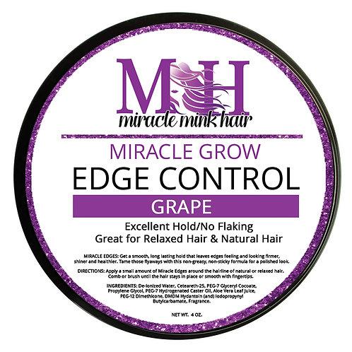 Miracle Mink Hair Grows Edge Control: Grape