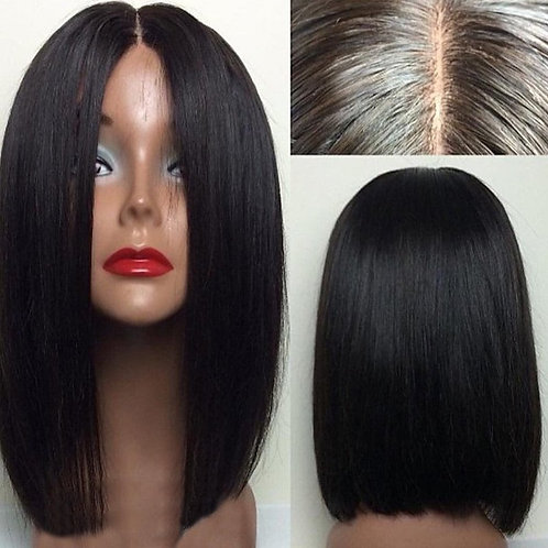 Full Lace Blunt Bob Style
