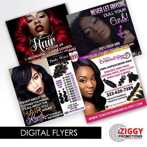 BOGO DEAL: Customized Digital Flyer
