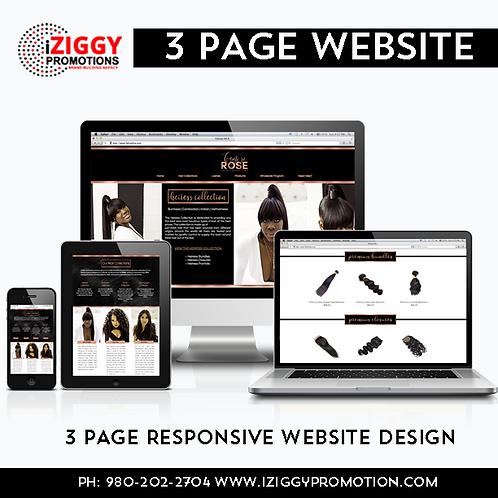 (EC) 3 Page Business Website Bundle