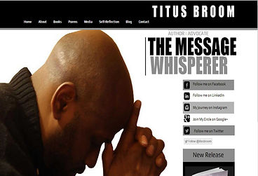 Titus Broom created by iZiggy Promotions