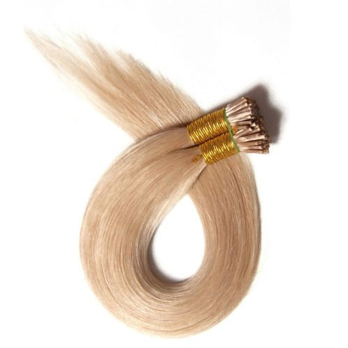 Dark Blonde I-Tip Human Hair Extensions