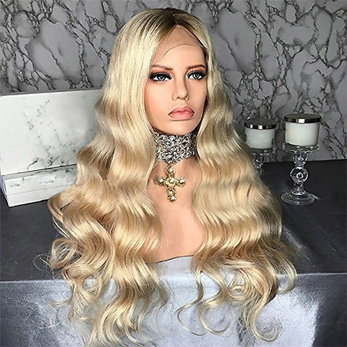 Raw Indian Blonde Natural Wave Full Lace Wig 1B/613 (10-24)