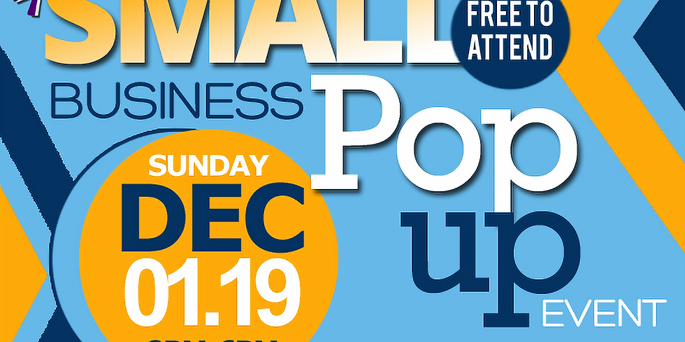 Small Business Pop-up Event