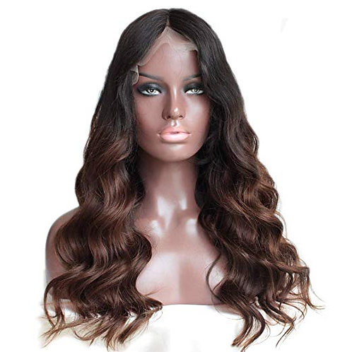 9A-Brown Ombre Brazilian Lace Front/Full Lace Wig