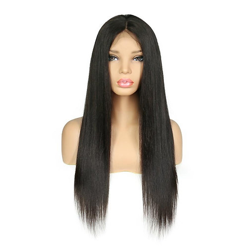 Full Lace Wig 150% Straight Natural Black