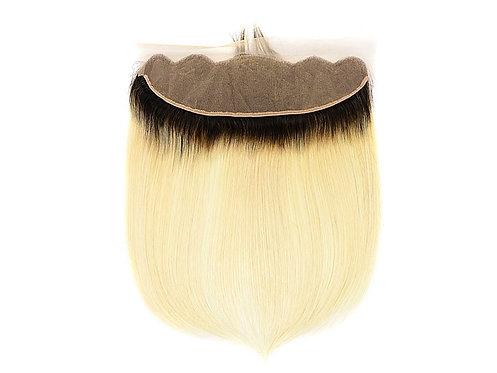 1B/613 Silky Straight Virgin Hair Frontal