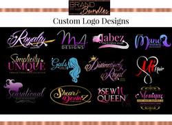 Brand My Hair Bundles Custom Logo