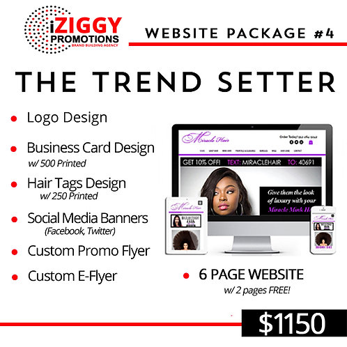 Business Branding Starter Package #5 by iZiggy Promotions