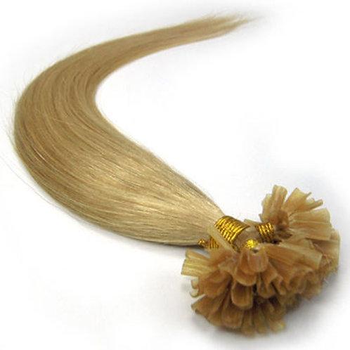 Blonde U-Tip Human Hair Extensions