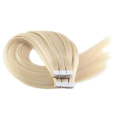 613/Blonde Tape-In Hair Extensions