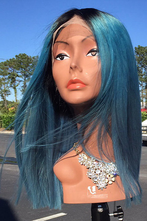 Tori's Crown & Glory Brazilian Mink Blueberry Wig