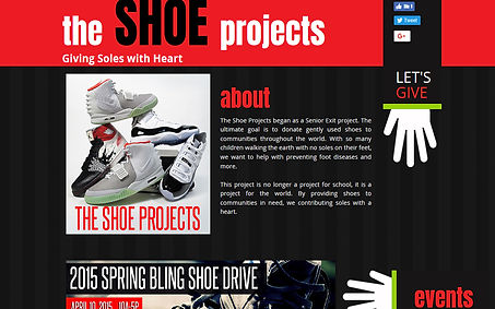 The Shoe Projects created by iZiggy Promotions