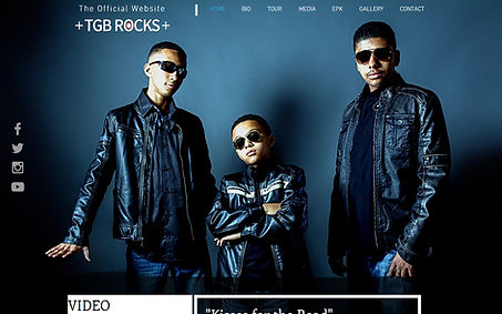 TGB Rocks created by iZiggy Promotions