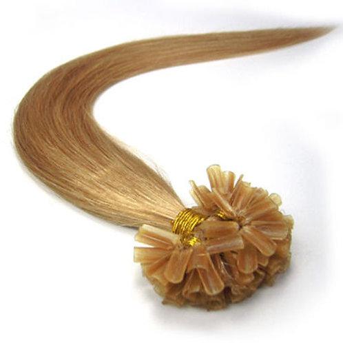 Honey Blonde U-Tip Human Hair Extensions
