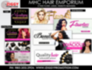 MHC Hair Emporium created by iZiggy Promotions