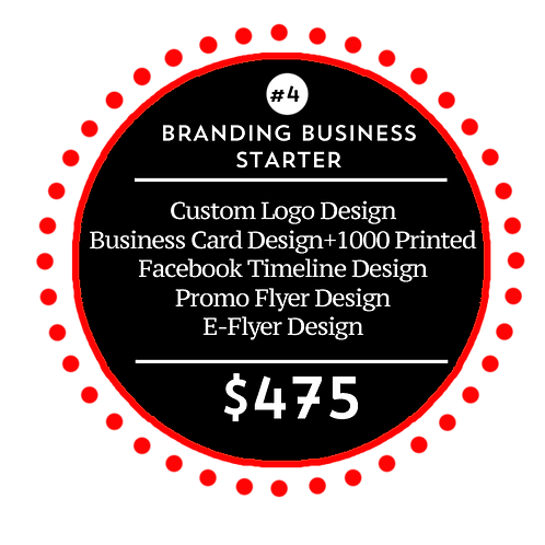Business Branding Starter Package 4 by iZiggy Promotions