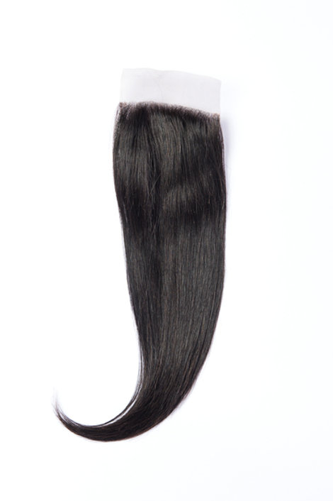 Milan's Hair Box Silky Straight 4x4 Closure