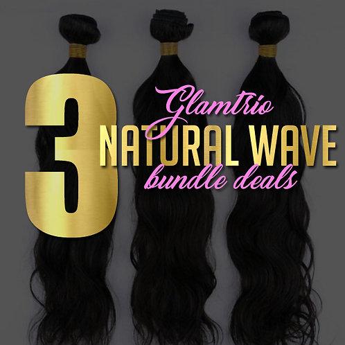 3 Bundle Deal: Natural Wave Bundles