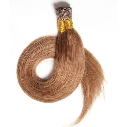 Honey Blonde I-Tip Human Hair Extensions