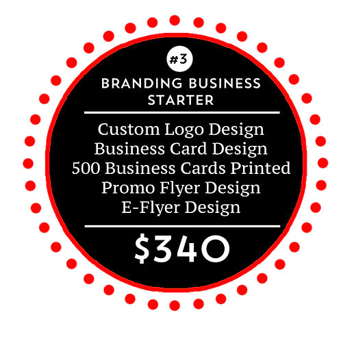 Business Branding Starter Package 3 by iZiggy Promotions