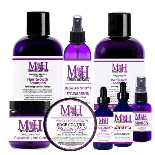 Miracle Mink Hair Grows Combo Pack 5