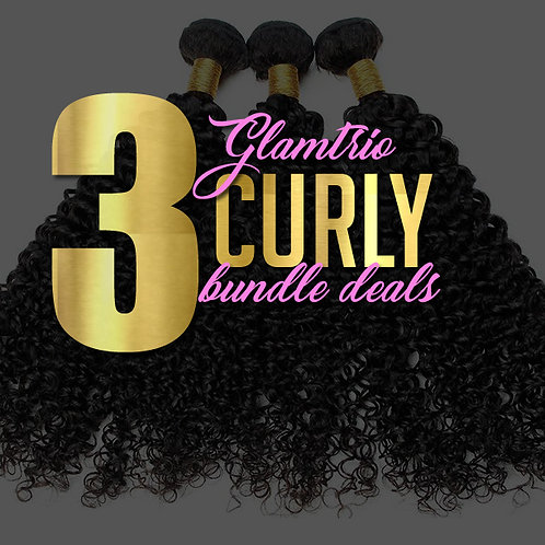 3 Bundle Deal: Curly Bundles