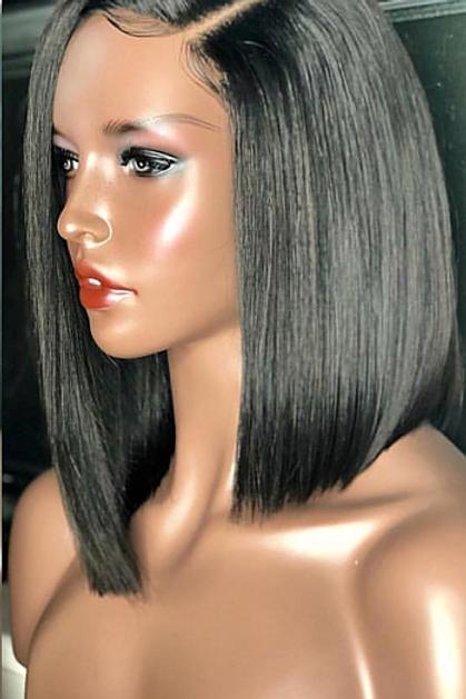 Tori's Crown & Glory Brazilian Mink Low Blunt Cut Wig