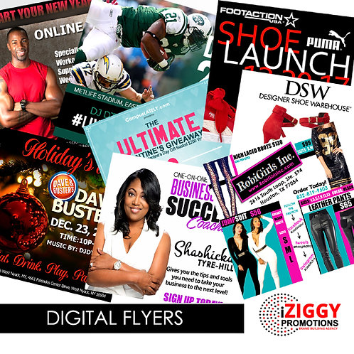 Digital Flyers by iZiggy Promotions