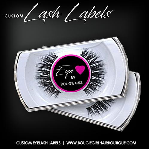 Eyelash Labels