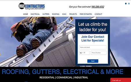 RGE Contractors created by iZiggy Promotions