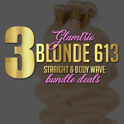 3 Bundle Deal: Blonde 613 w/ Frontal