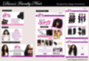 The Diva's Vanity Hair created by iZiggy Promotions