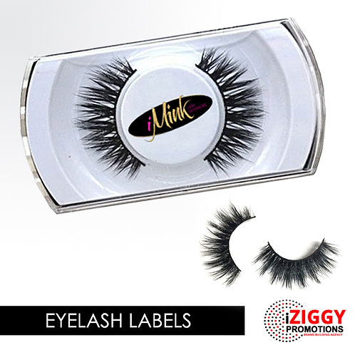 Eyelash Labels by iZiggy Promotions