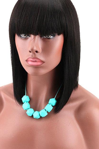 "Tori's Crown & Glory 8"" Brazilian Mink China Bang Wig"