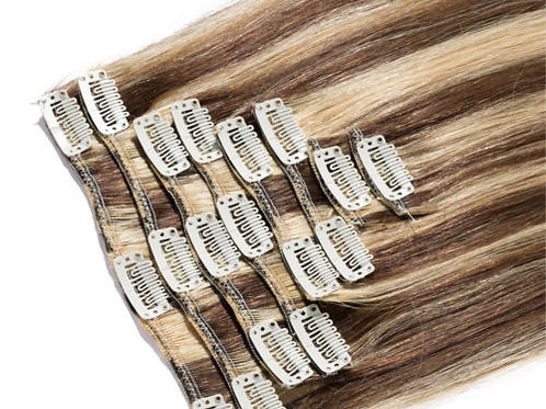 Ombre 8/613 Clip-In Hair Extension