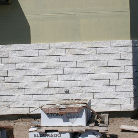 Masonry Veneer Main Entry