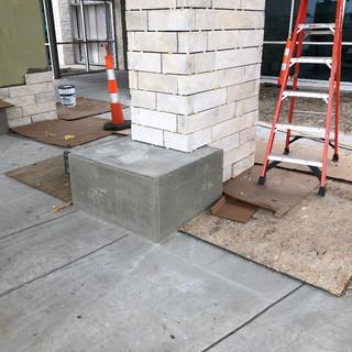 Entry Column Bench