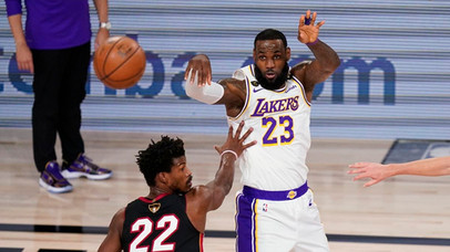 The NBA Finals have concluded. The Lakers are Champions!