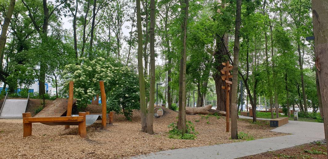 Projekt zagospodarowania parku kieszonkowego przy ul. Wadowickiej wKrakowie