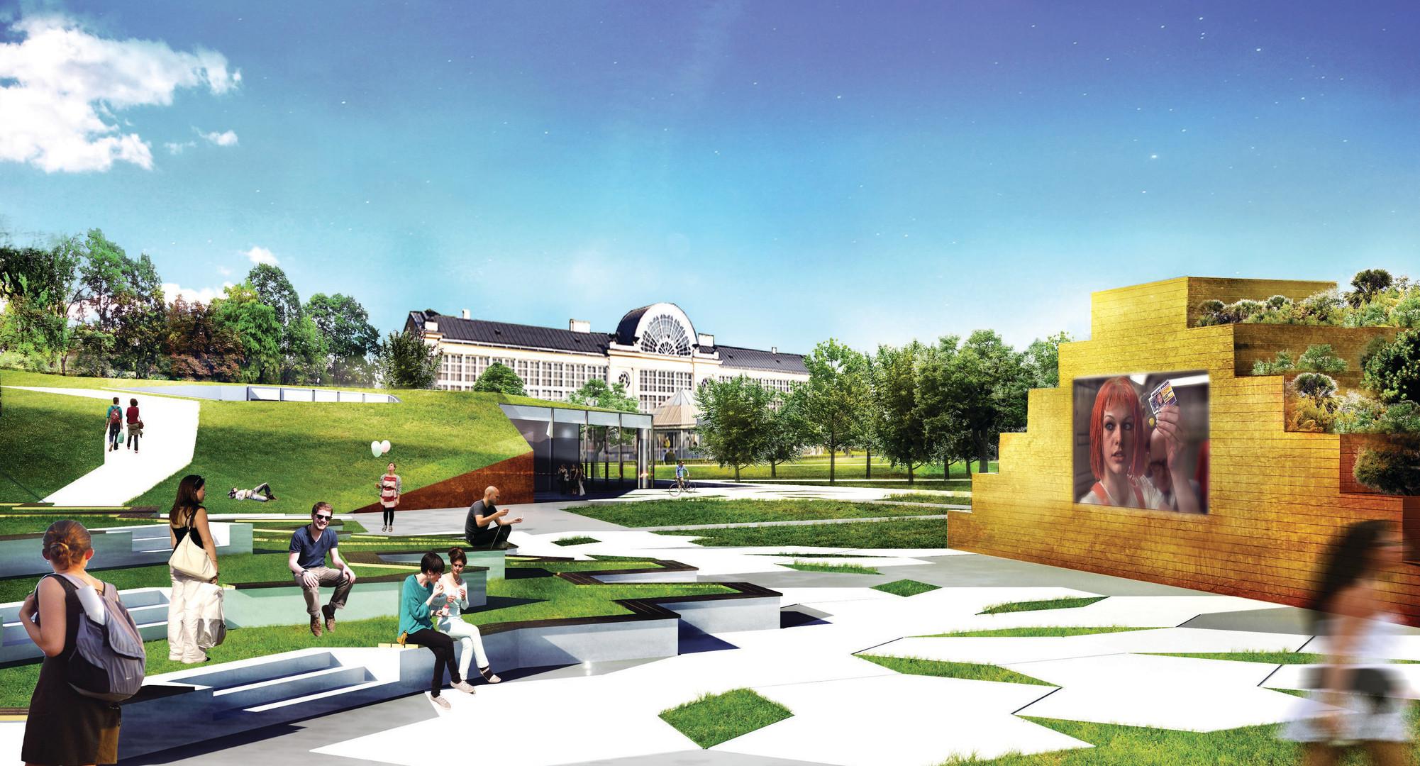Konkurs na opracowanie koncepcji Ogrodu XXI wieku z pawilonem wystawienniczym – Rewitalizacja obszaru Muzeum Łazienki Królewskie