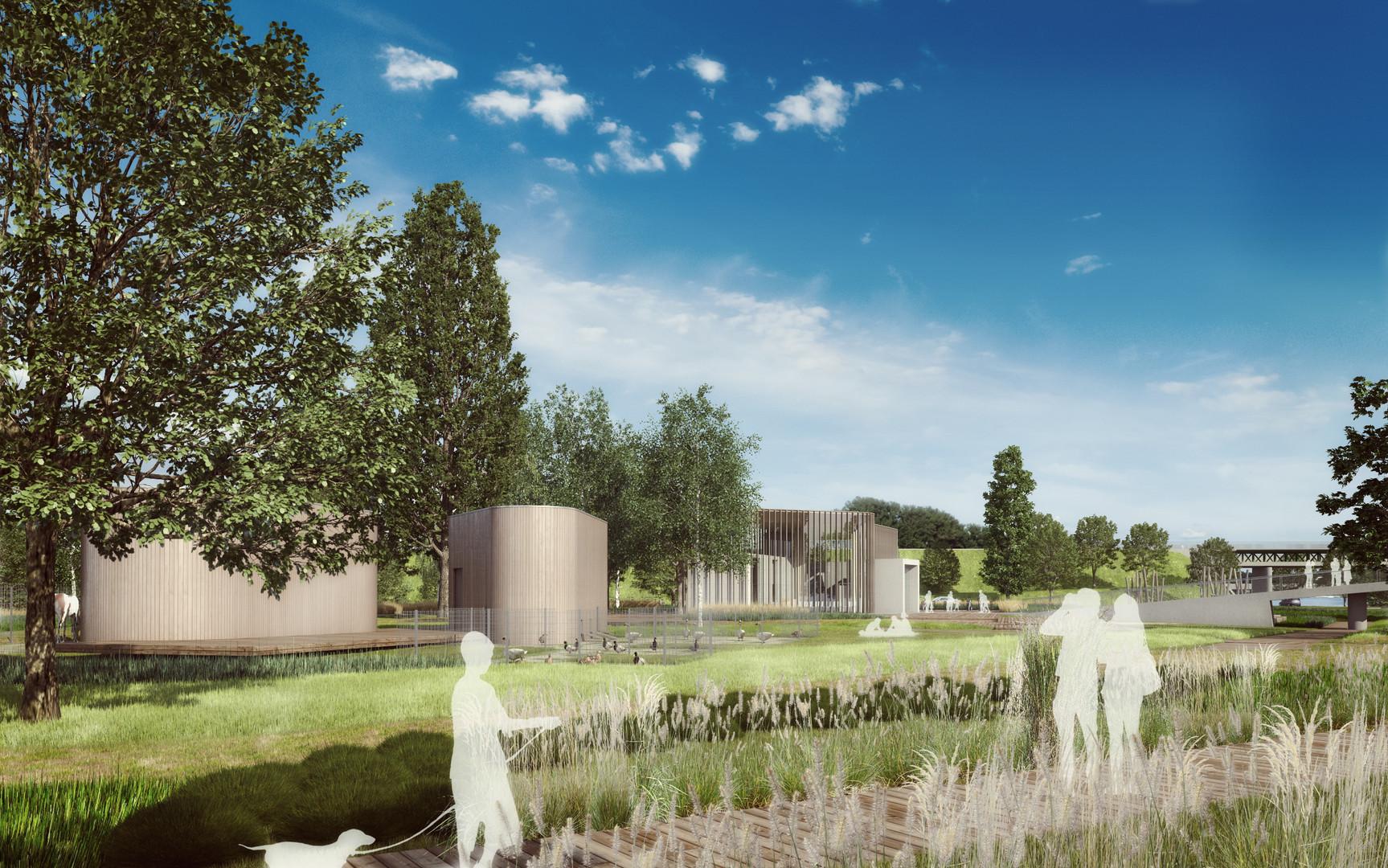Konkursnaopracowanie koncepcji architektonicznej pawilonu edukacyjnego wraz zzagospodarowaniem terenu, polaną rekreacyjną oraz obiektami towarzyszącymi naterenie Golędzinowa wWarszawie