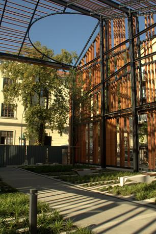 Projekt zieleni w ramach projektu Małopolskiego Ogrodu Sztuki
